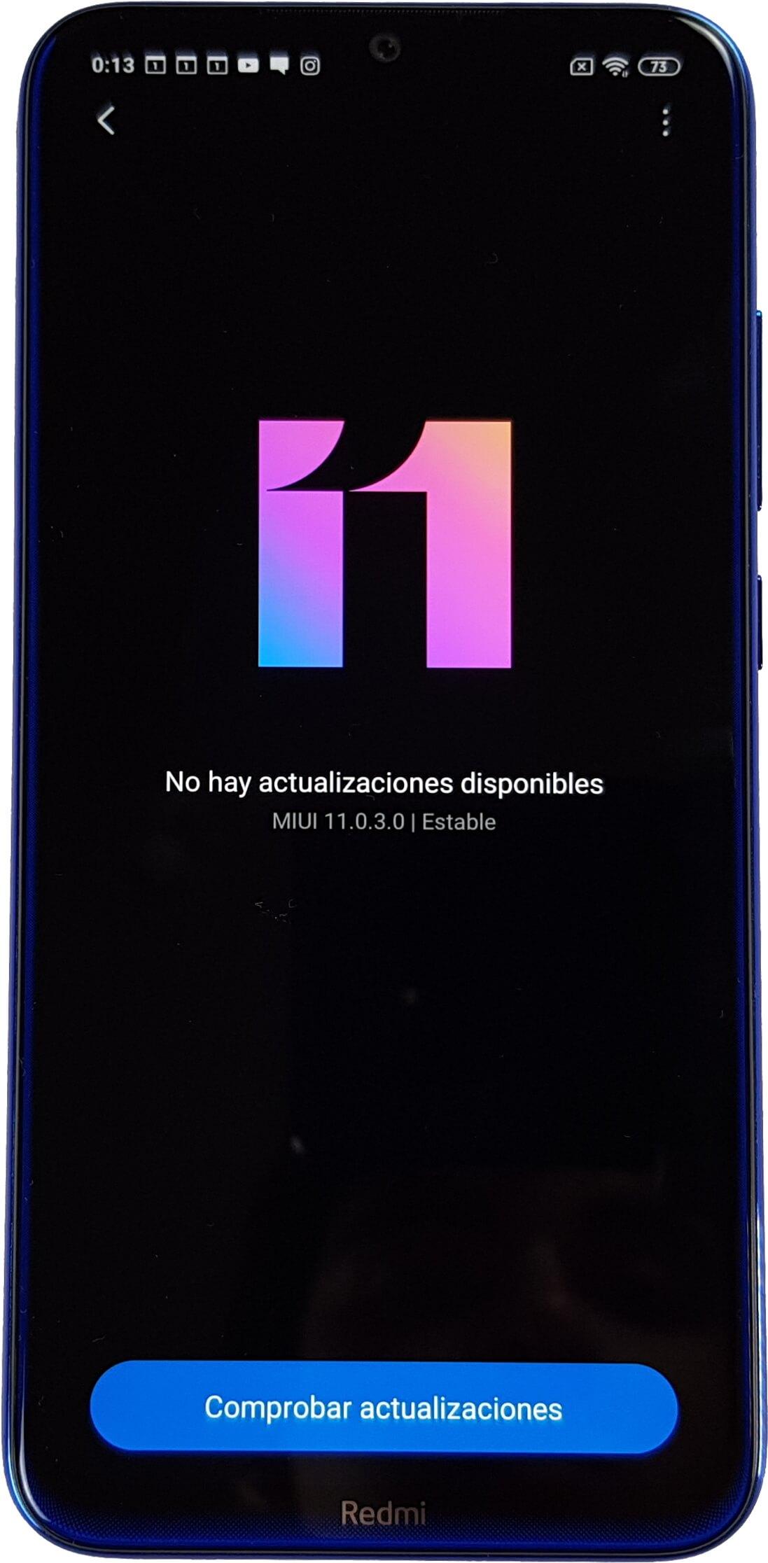 El Redmi Note 8 ya tiene MIUI 11