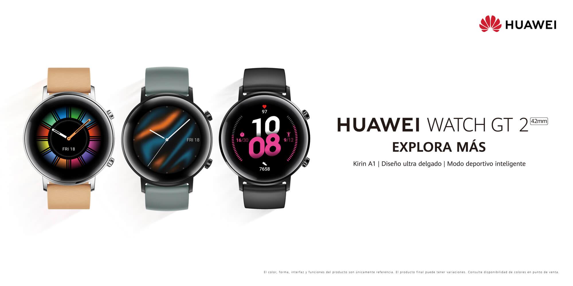 El Smartwatch que lo tiene todo: HUAWEI Watch GT 2