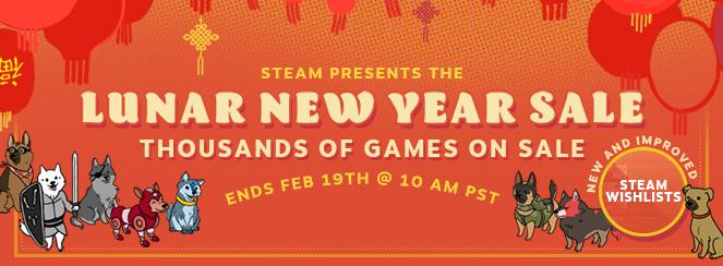 Muchos videojuegos en oferta gracias al Año Nuevo Lunar