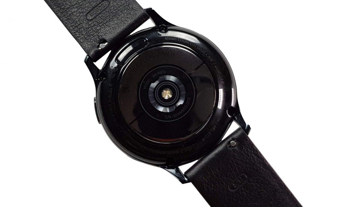 Parte trasera del Samsung Galaxy Watch Active 2