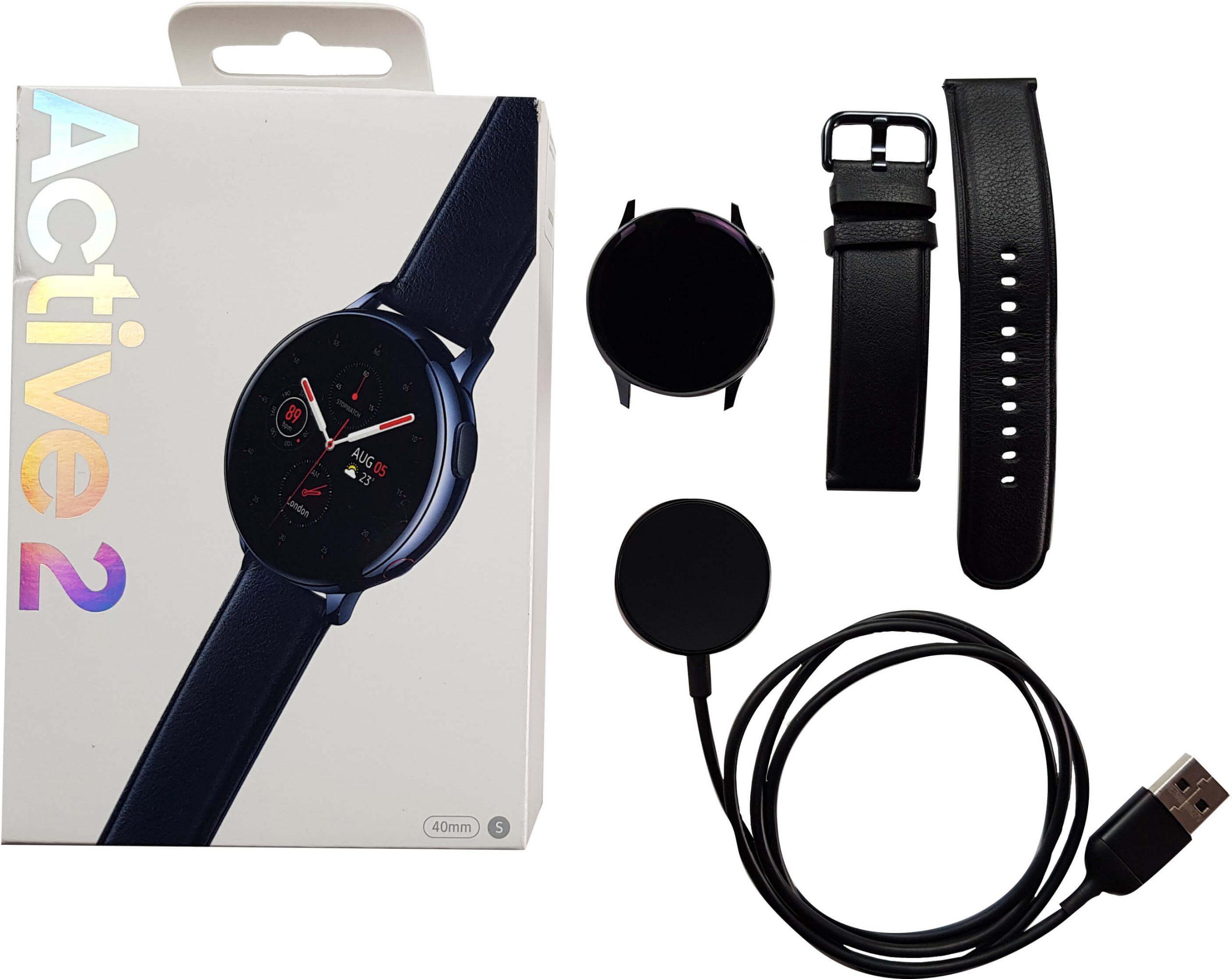 Empaque del Watch Active 2