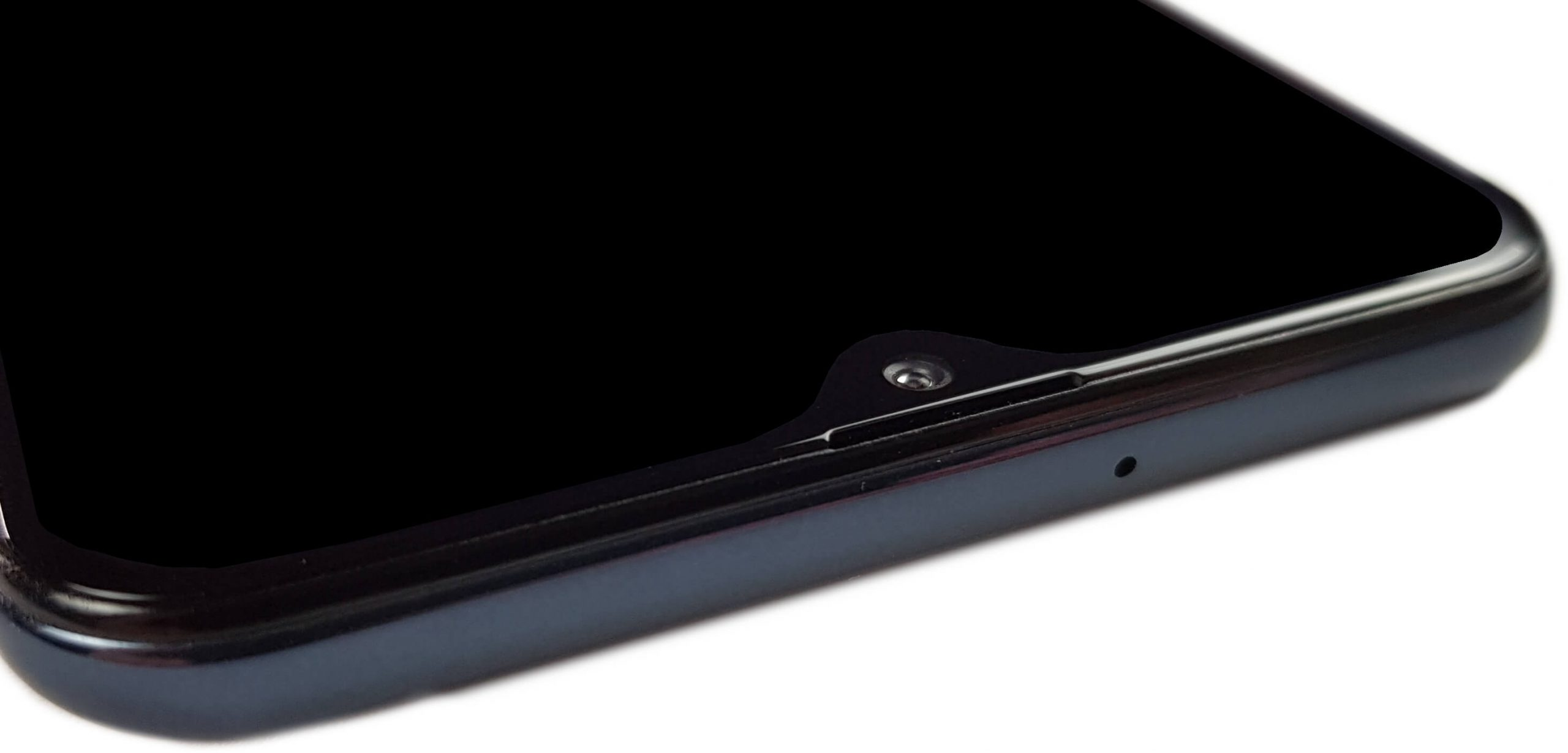 Parte superior del Samsung Galaxy A30s.