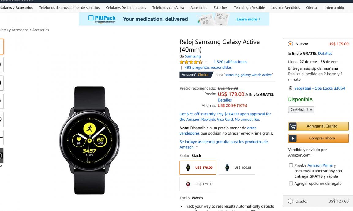 Ofertas en Amazon para traer por menos de USD 200