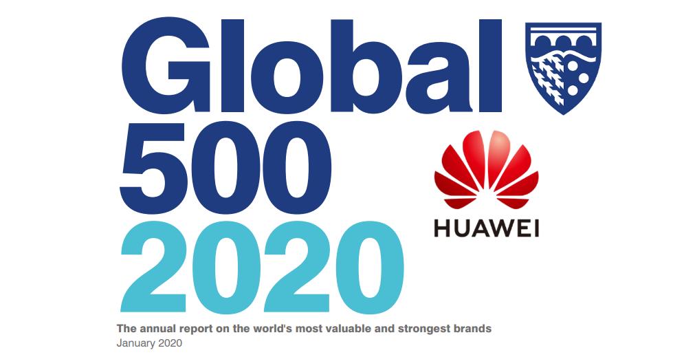 Huawei es nombrada como una de las 10 marcas más valiosas por Brand Finance