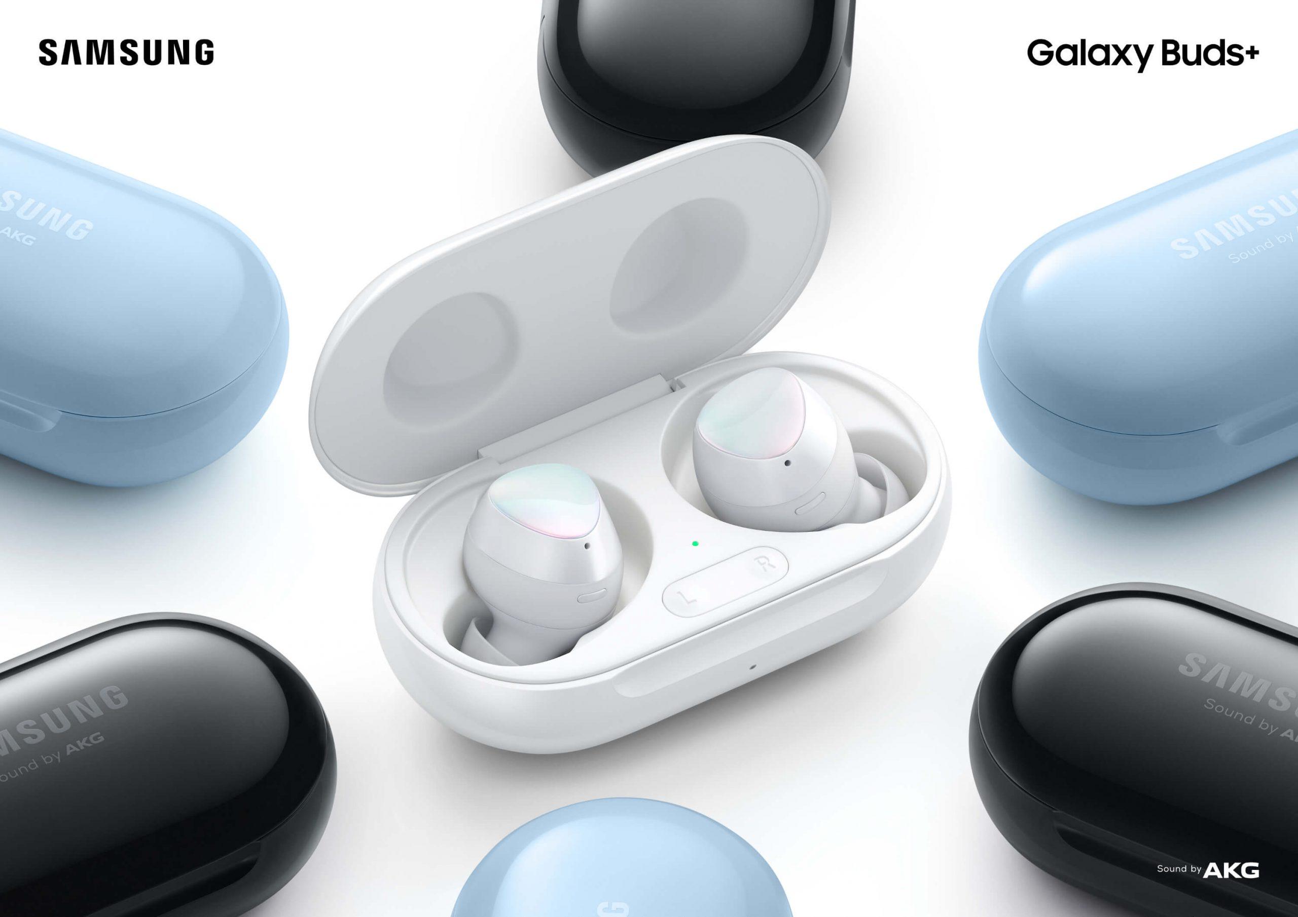 Galaxy Buds+: Cambie la forma en que experimenta el sonido