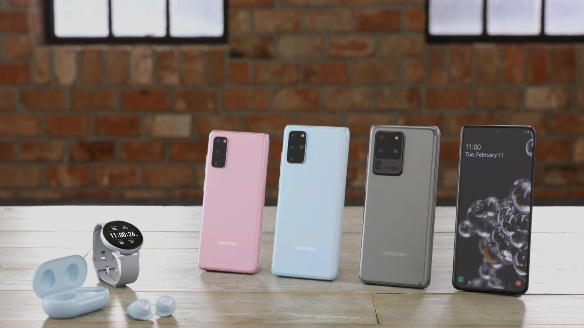 Samsung anuncia el comienzo de la pre-venta de la serie Galaxy S20 en Uruguay