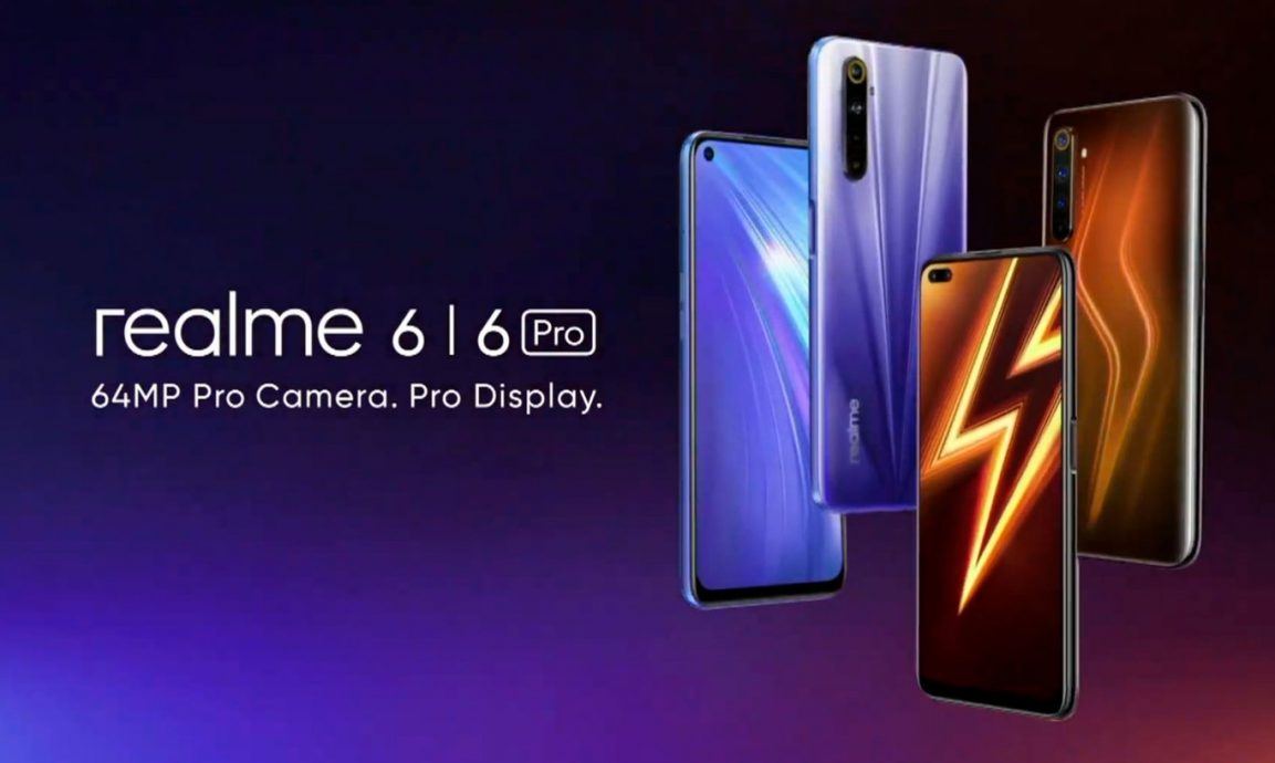 Realme 6 y 6 Pro