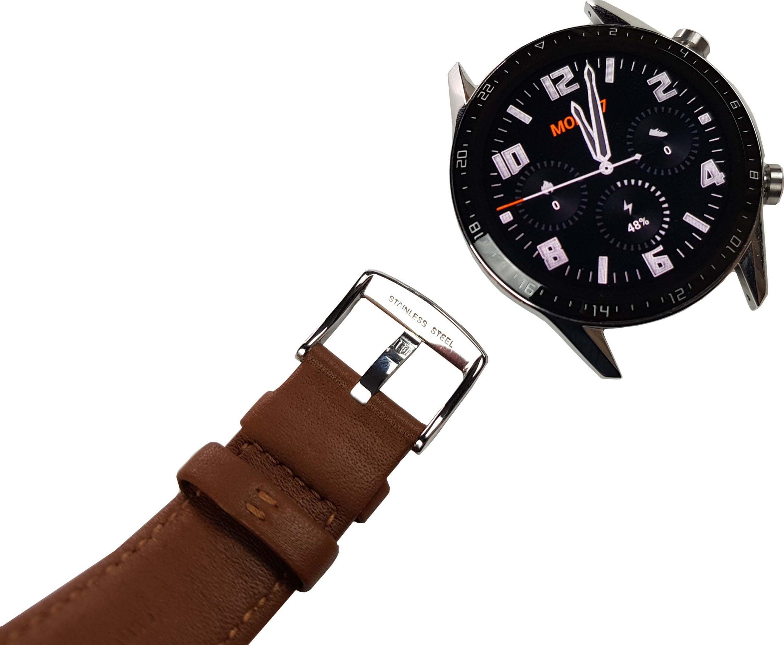reloj inteligente huawei watch gt 2 materiales