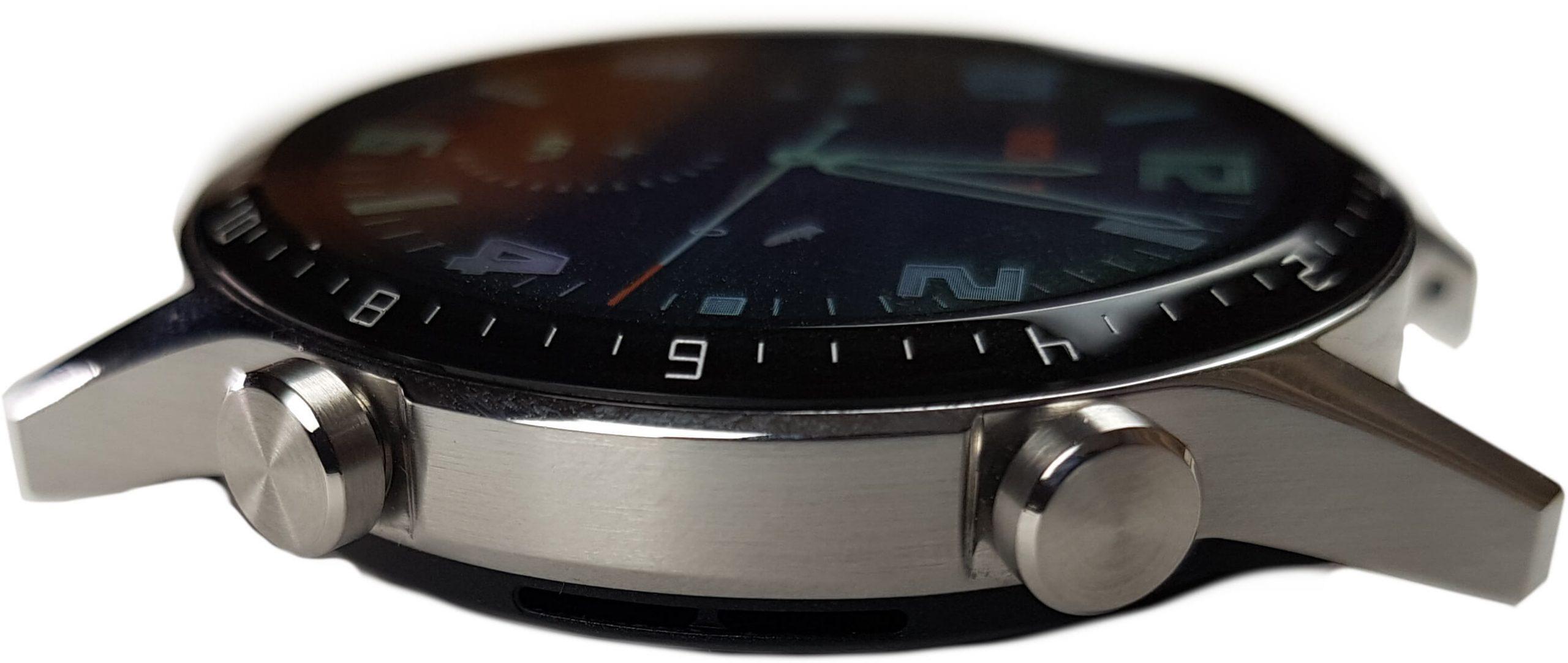 reloj inteligente huawei watch gt 2 botones lateral