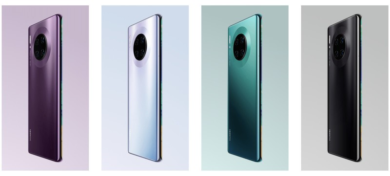 huawei mate 30 pro colores