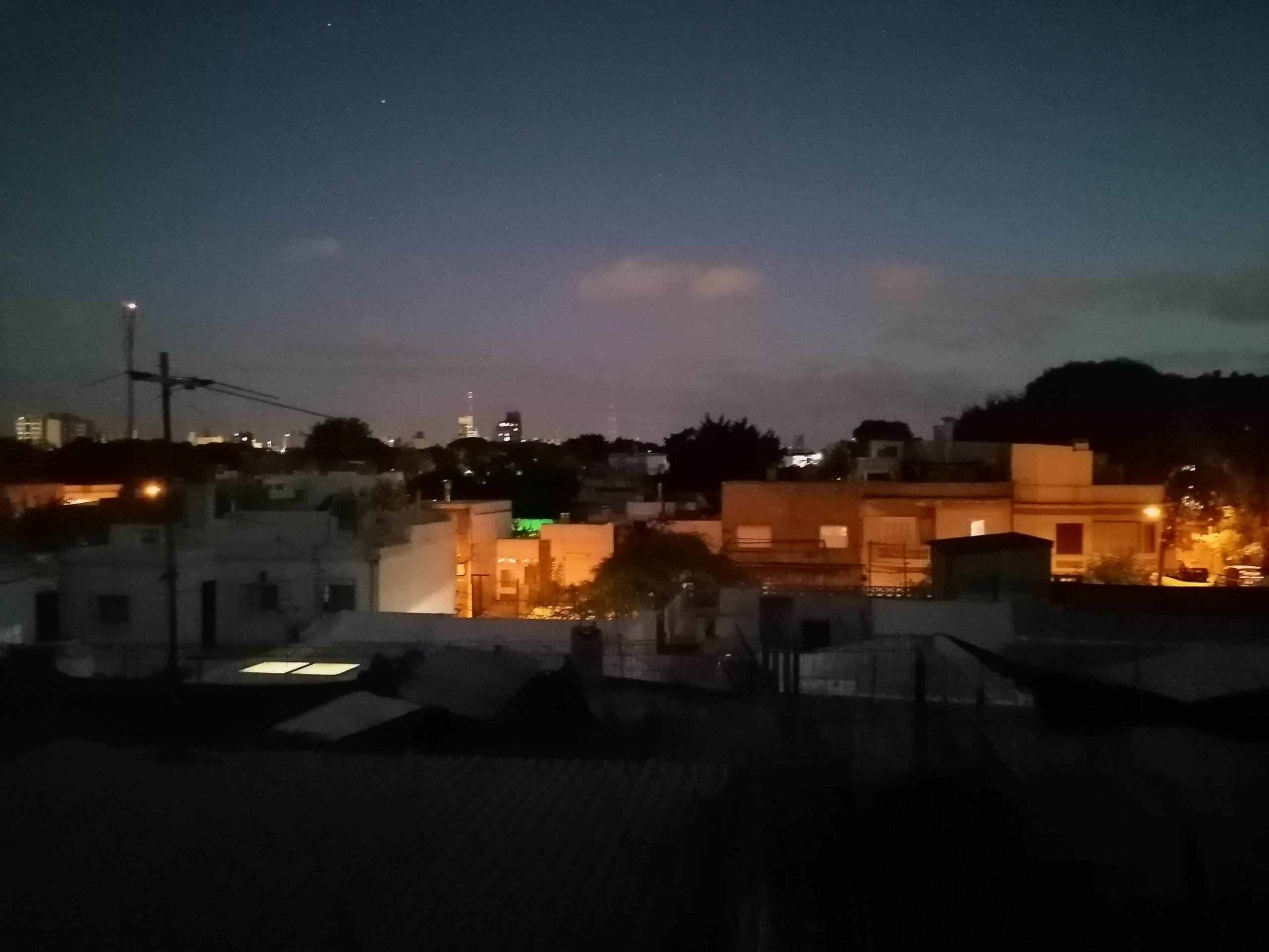 huawei y7p camara noche