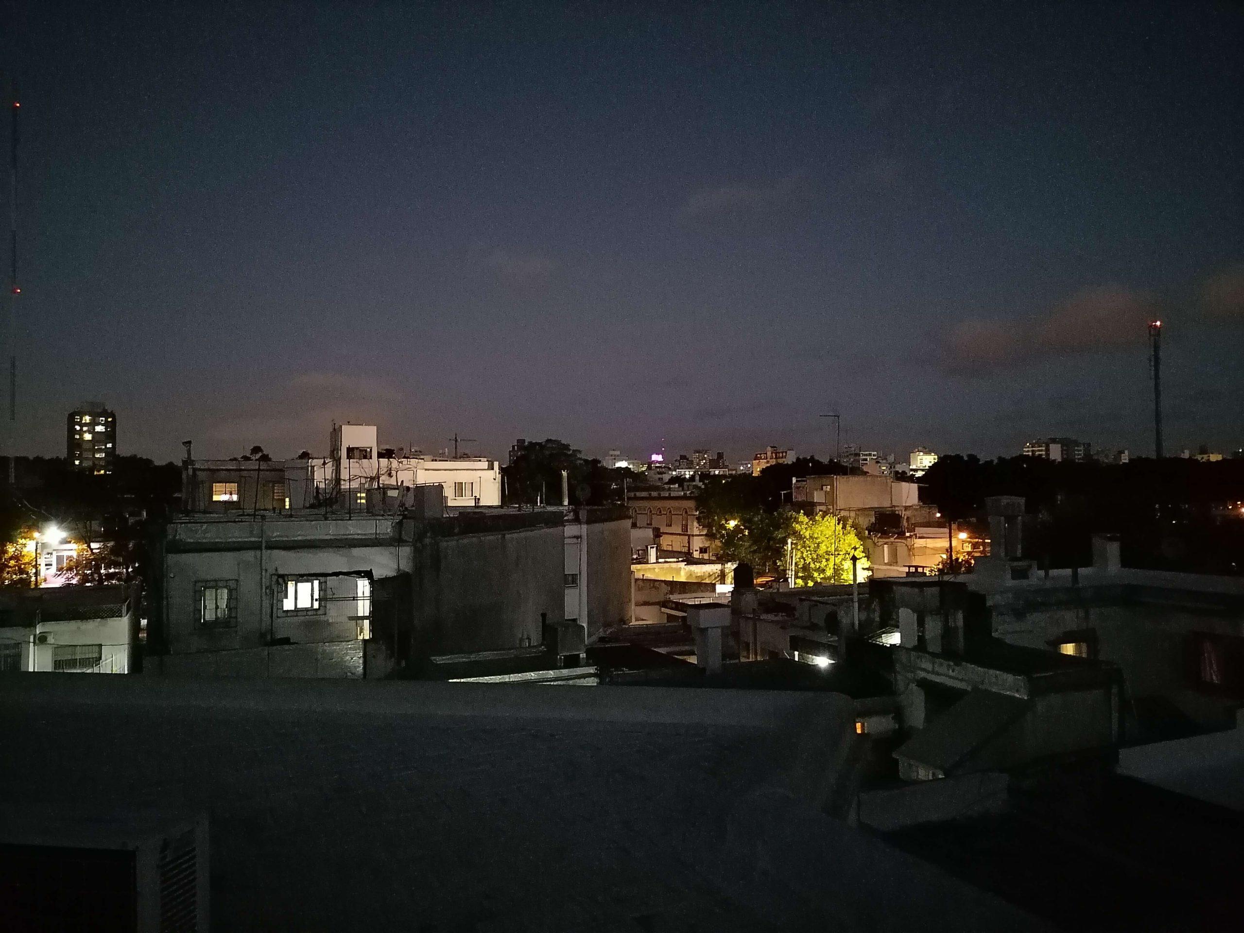 huawei y7p camara noche 2
