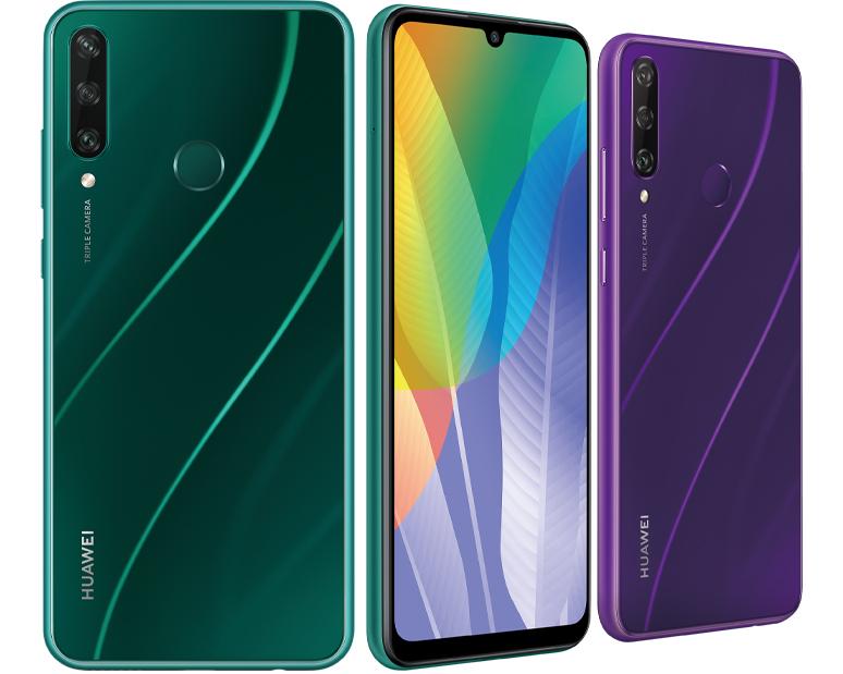 HUAWEI lanzó los nuevos celulares de la serie Y 2020, con Android y AppGallery