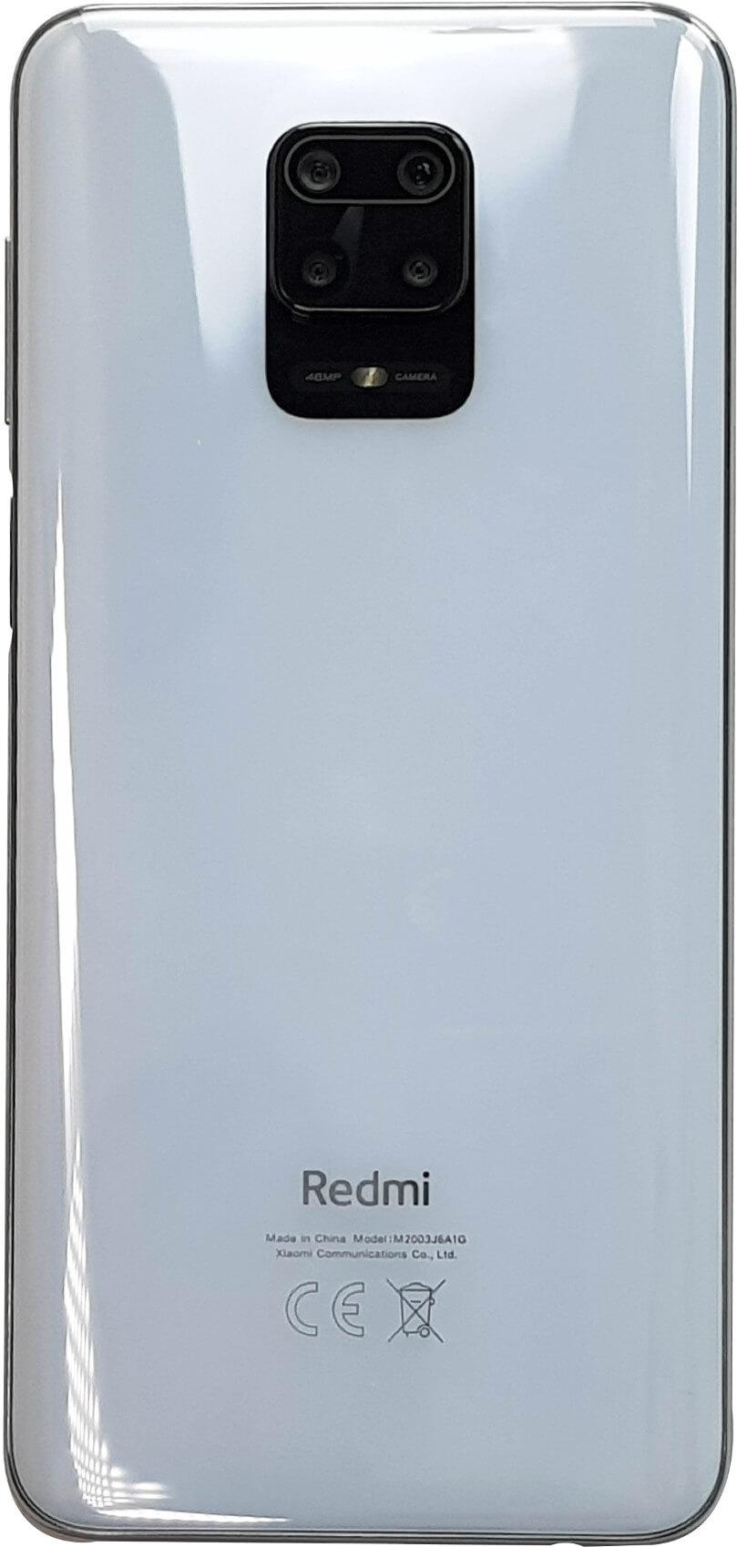 Parte posterior del Redmi Note 9S