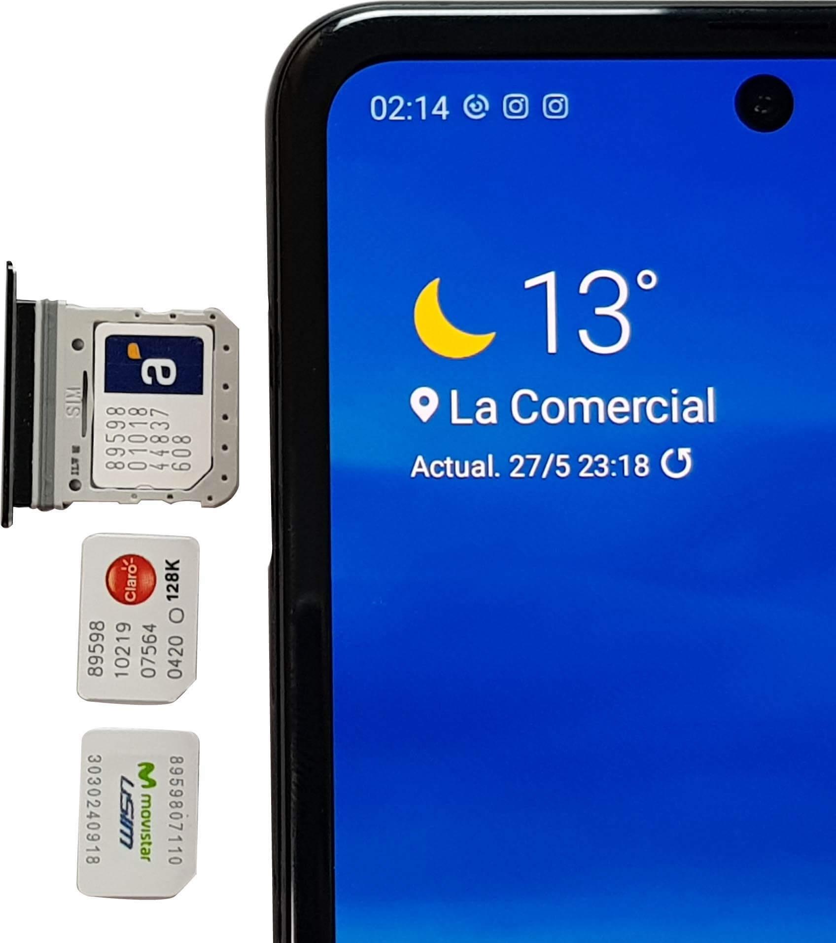 Tenemos conectividad 4G LTE en el Z Flip.
