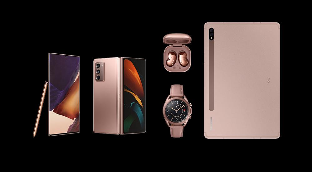 Samsung presenta cinco potentes dispositivos nuevos dentro del Ecosistema Galaxy para empoderar tu trabajo y juego.