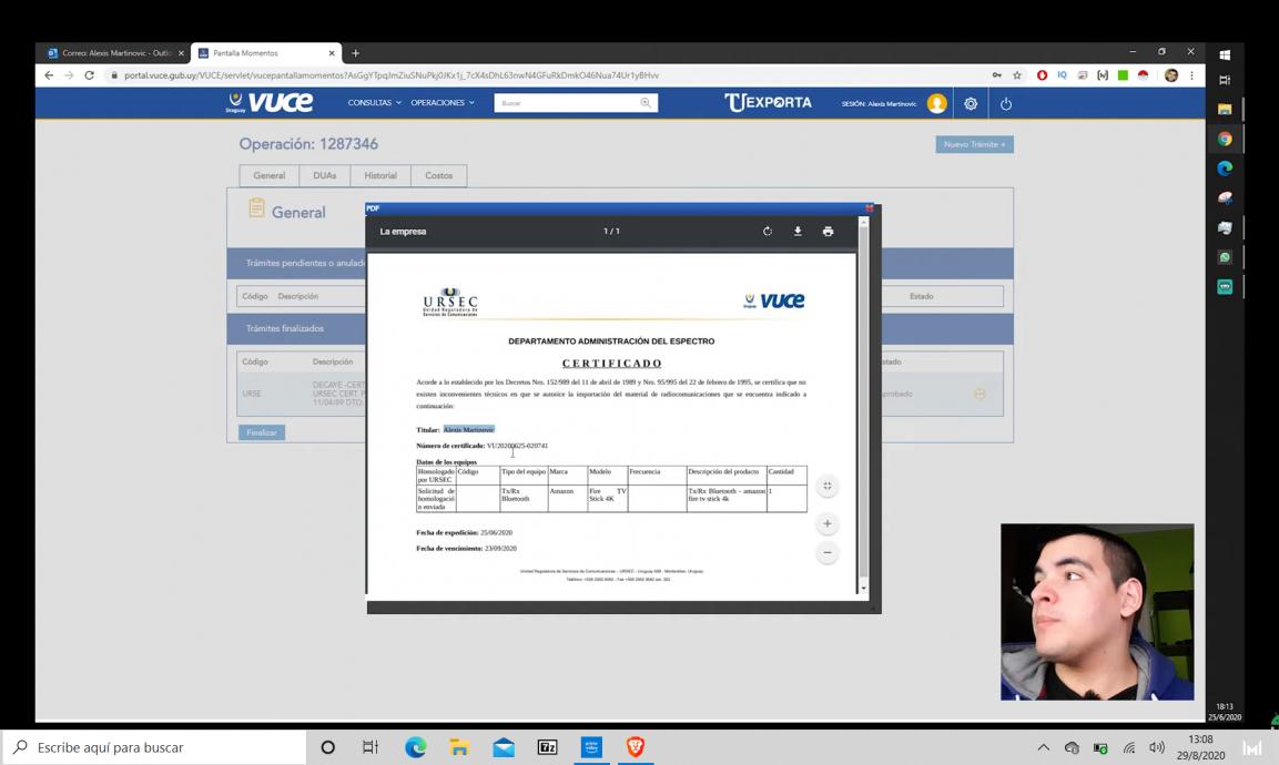 Cómo hacer los trámites de URSEC para compras por internet