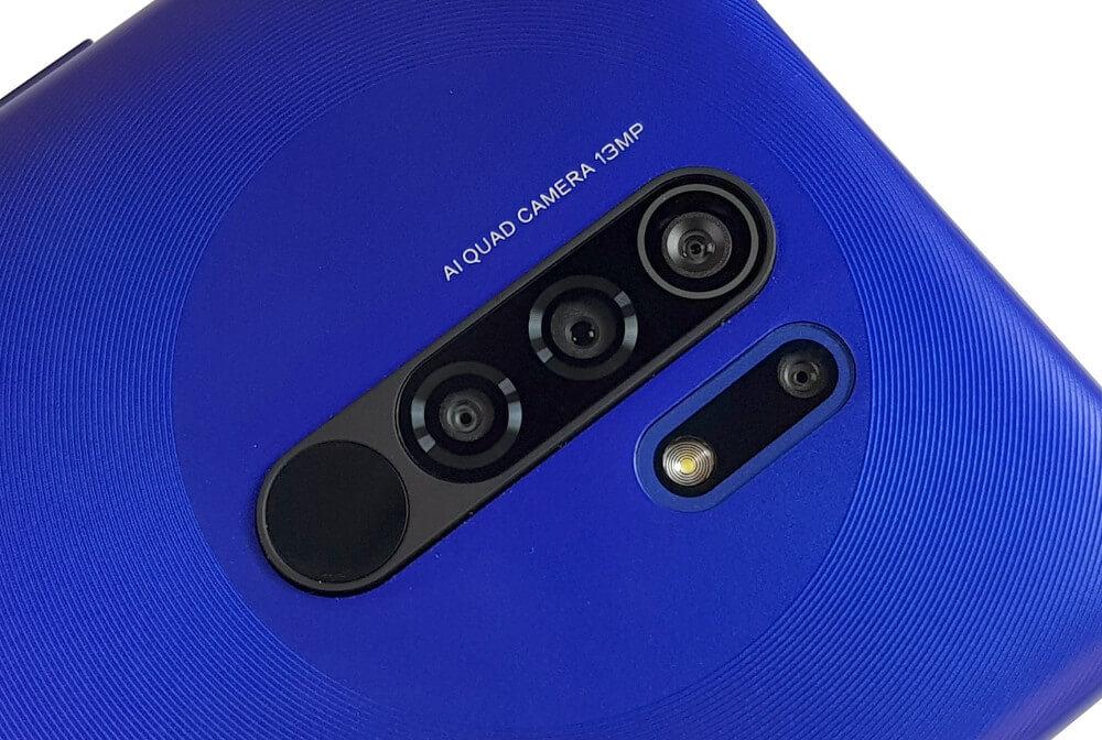 Disposición de cámaras en el Redmi 9