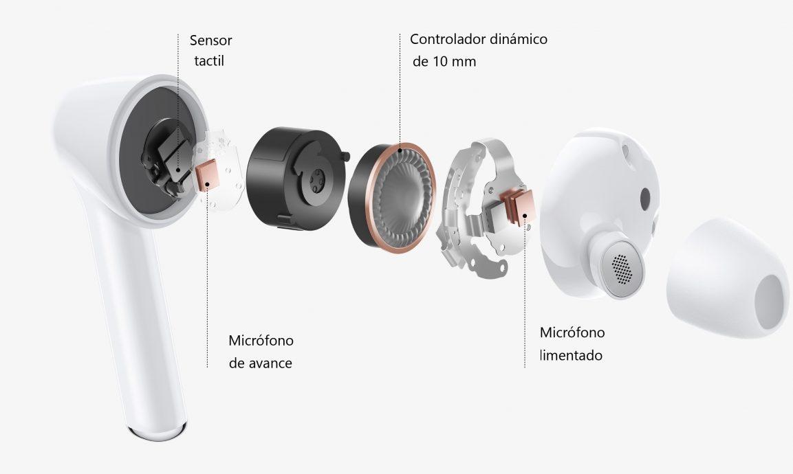 Así son los nuevos Huawei FreeBuds 3i con cancelación de ruido activa