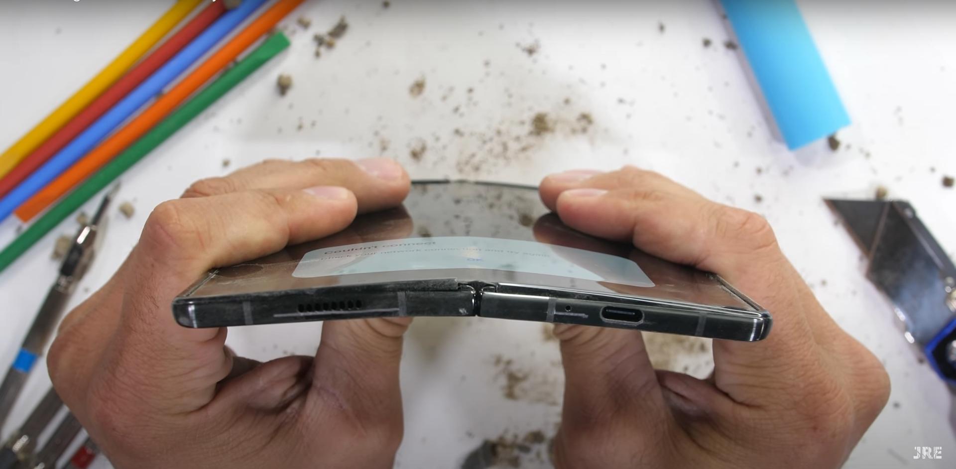 Samsung mejora la resistencia del Galaxy Z Fold 2