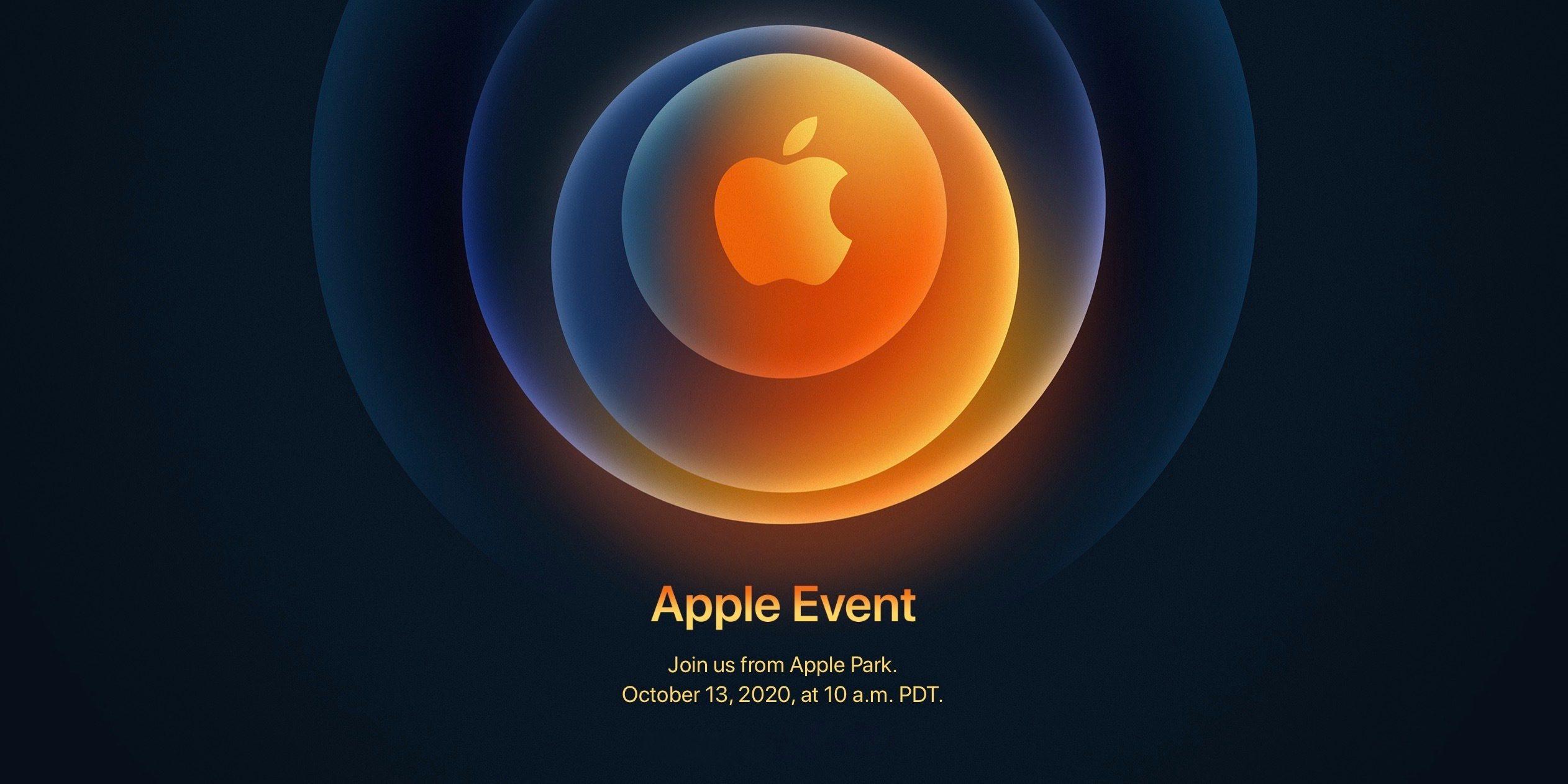 Confirmado: Los iPhone 12 serán presentados el 13 de octubre
