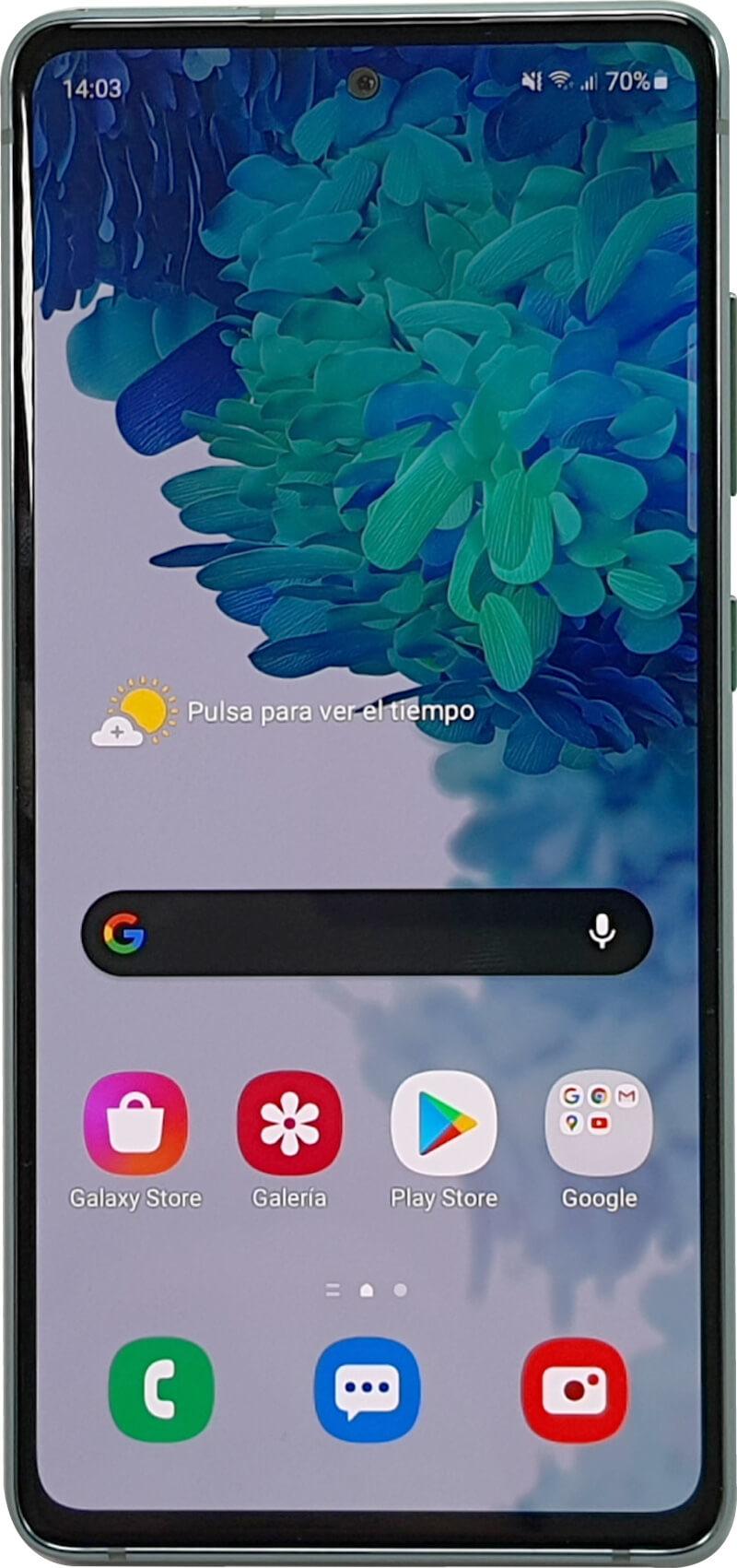 Samsung Galaxy S20 FE de fente