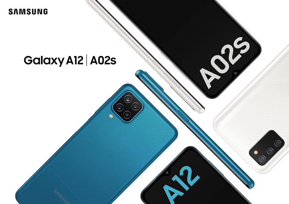 Samsung Galaxy A12 y A02s