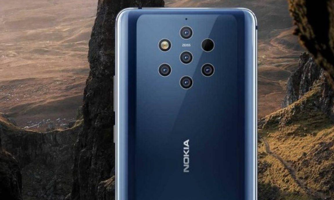 Nokia 10 PureView? No, este es el  Nokia 9 PureView.