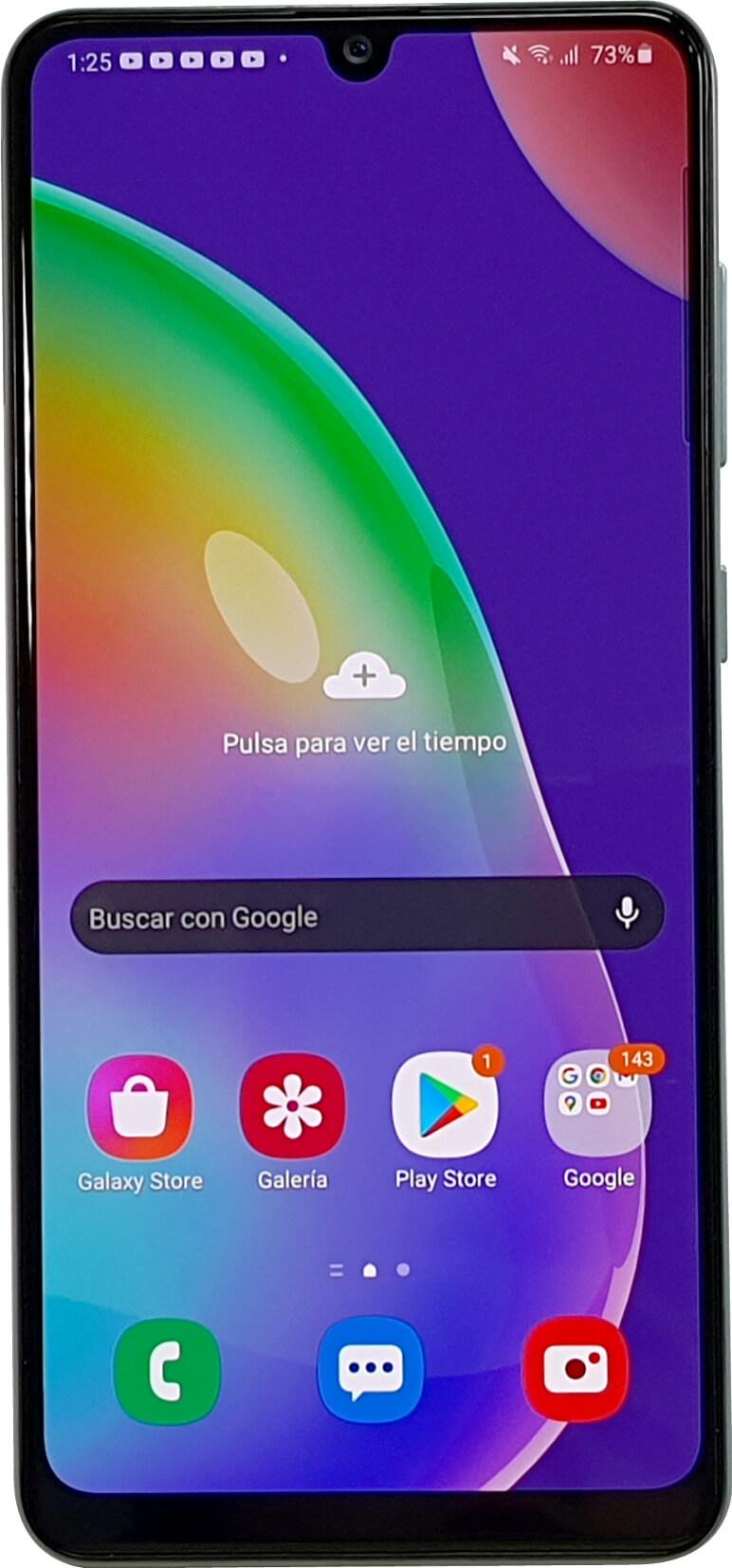 Parte frontal del Samsung Galaxy A31