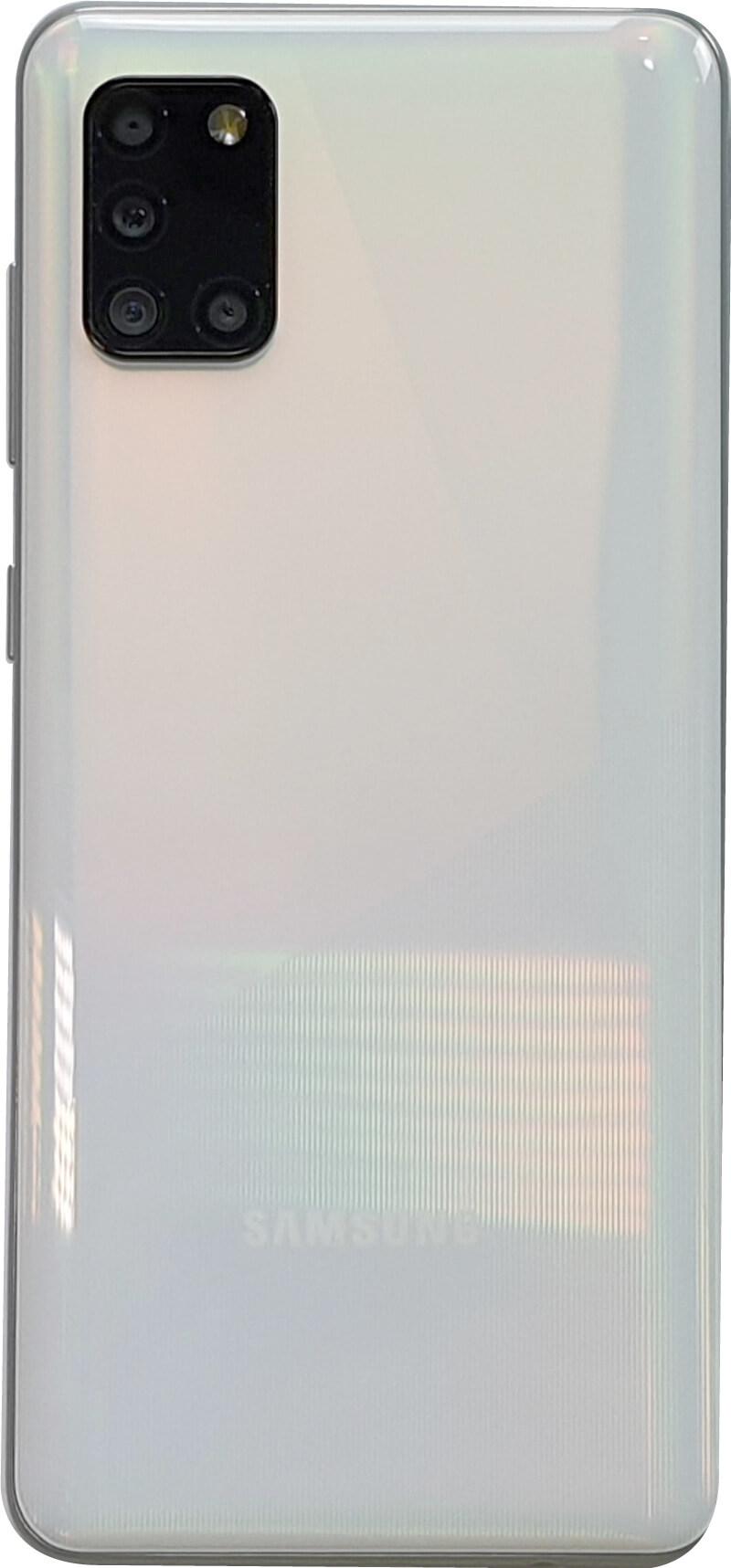 Parte posterior del Samsung Galaxy A31.