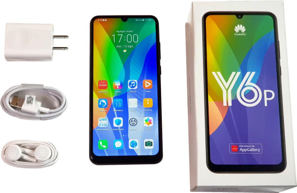 Review Huawei Y6p: correcto y con gran batería