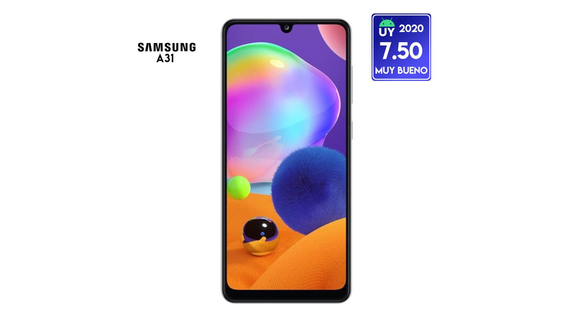 Review Samsung Galaxy A31: Un buen gama media