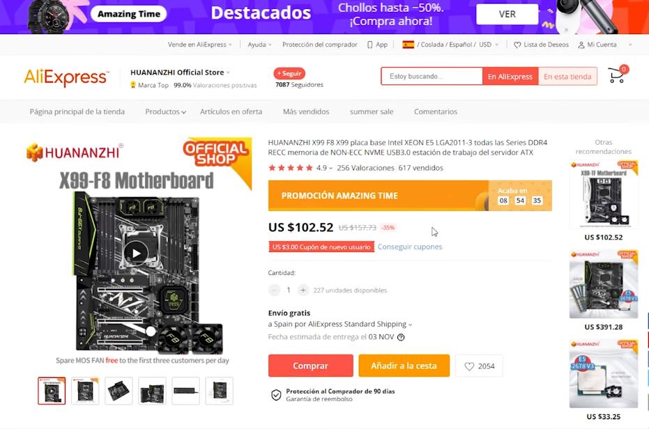 Como comprar en Aliexpress Uruguay 2021