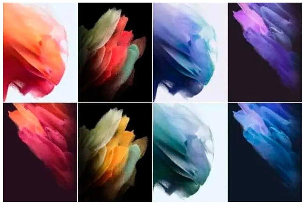 Wallpapers de los Galaxy S21