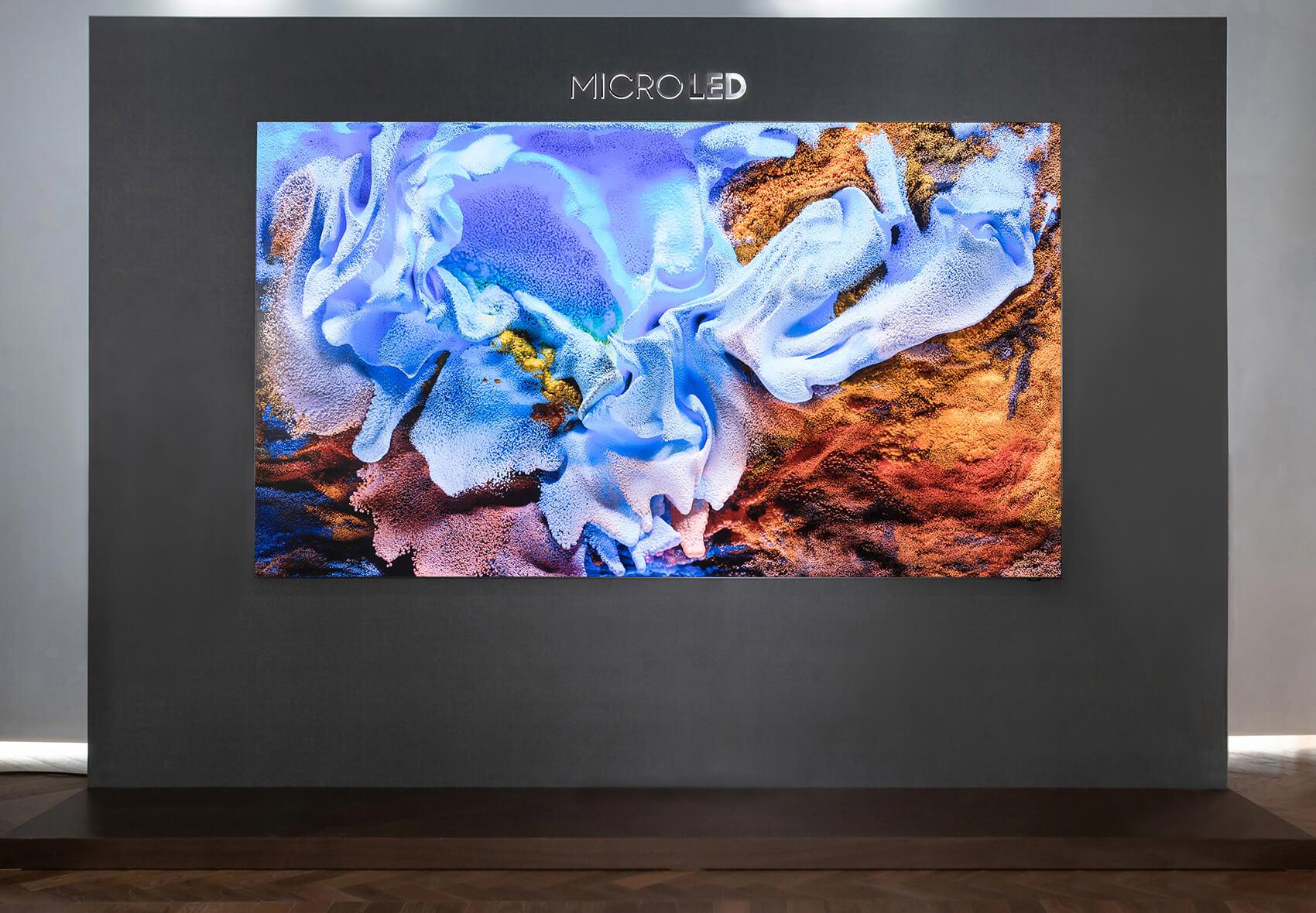 Samsung MicroLED abre una nueva era de calidad de imagen y diseño