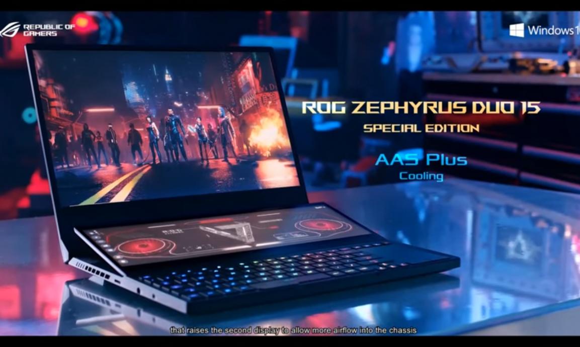 ASUS RoG anunció muchos dispositivos en CES 2021