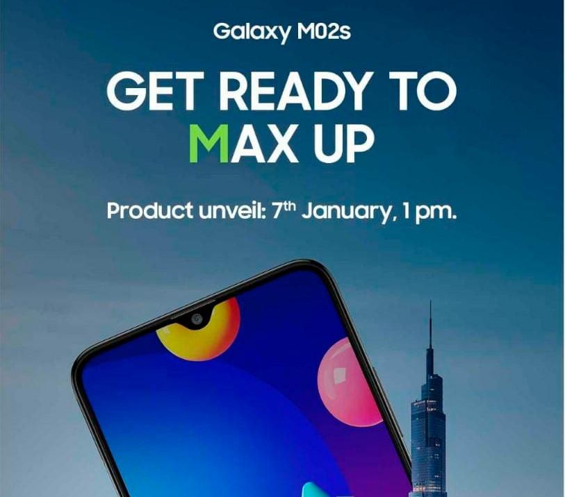 Samsung lanza el Galaxy M02s: la nueva gama de entrada