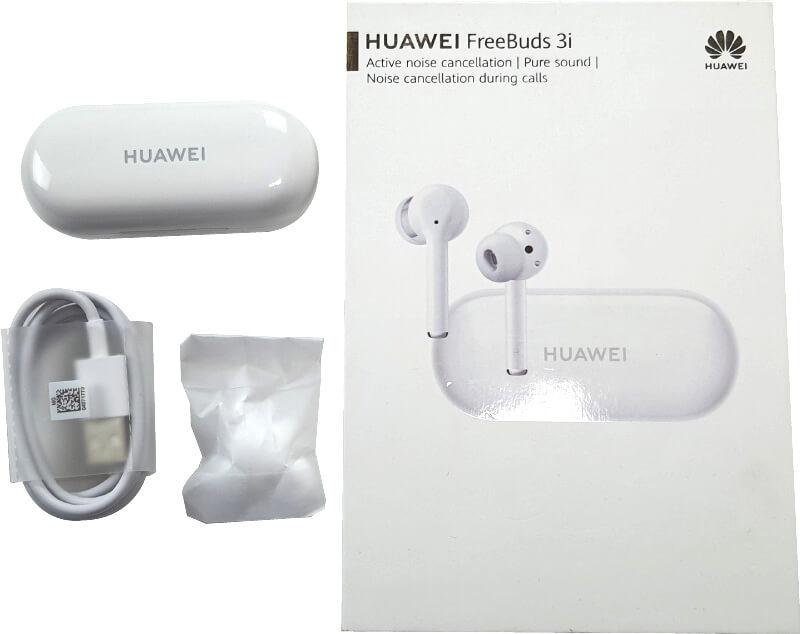 Huawei FreeBuds 3i contenido de la caja