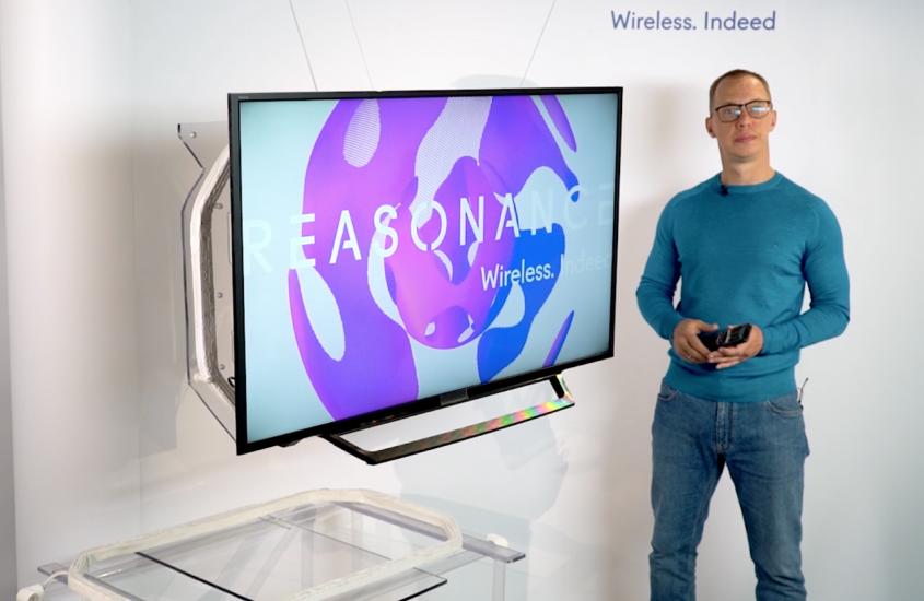 REASONANCE presentó en CES 2021 un televisor sin cables