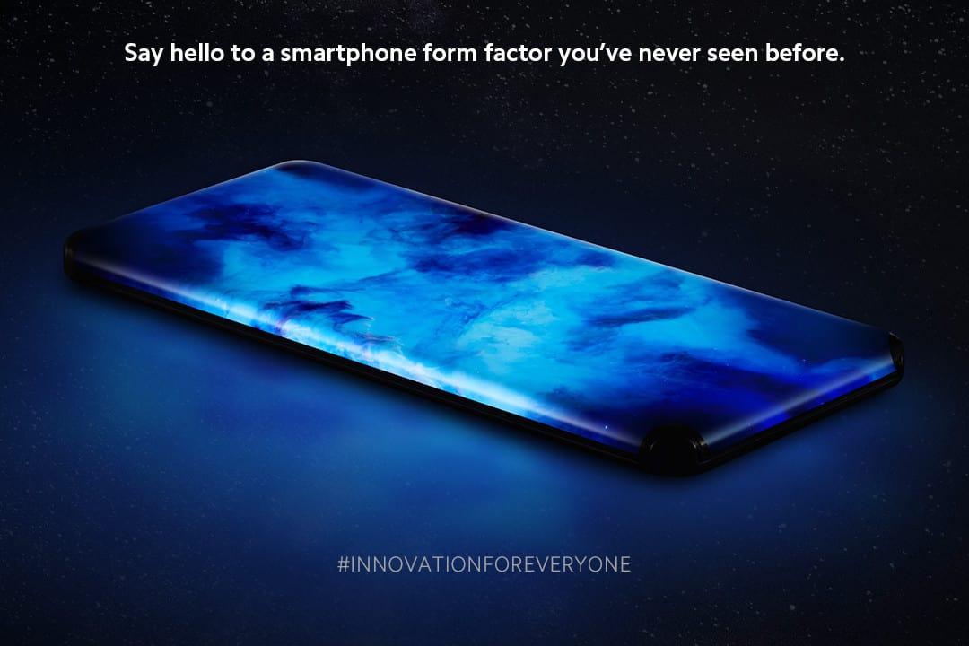 Xiaomi presenta un concept con sus cuarto lados curvos