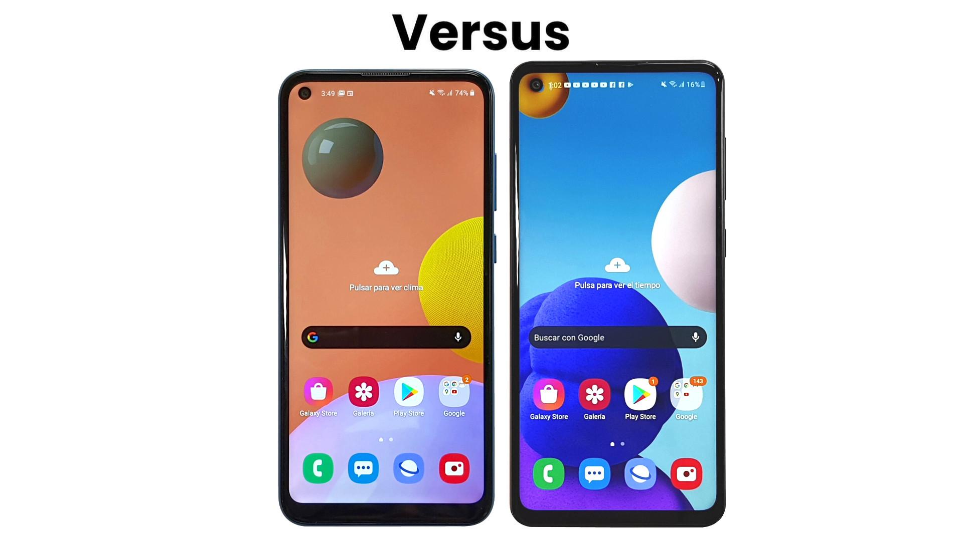 Comparativa Samsung Galaxy A11 vs Galaxy A21s: el precio es la clave
