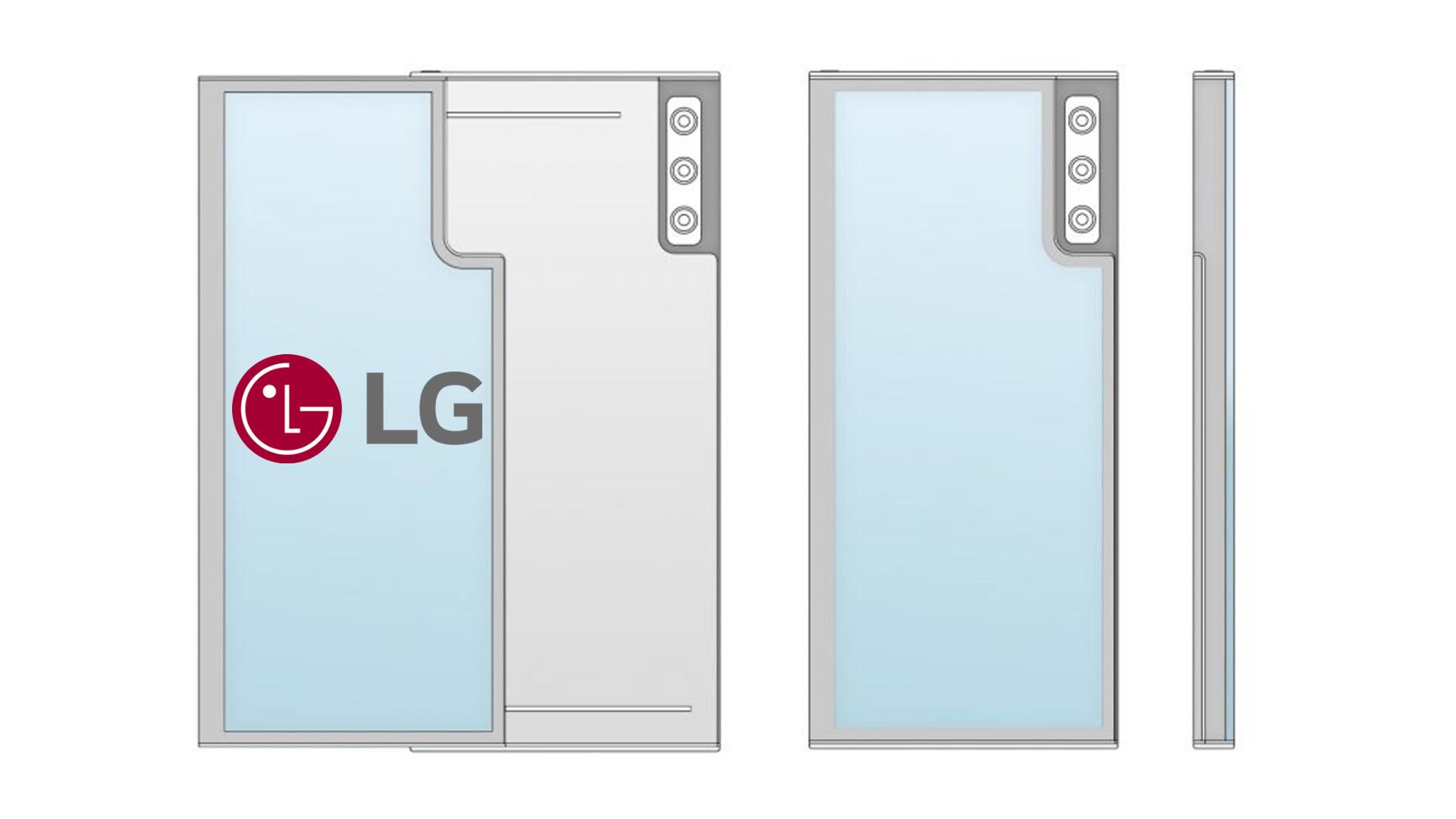 Nueva patente de LG: Enrollable con doble pantalla