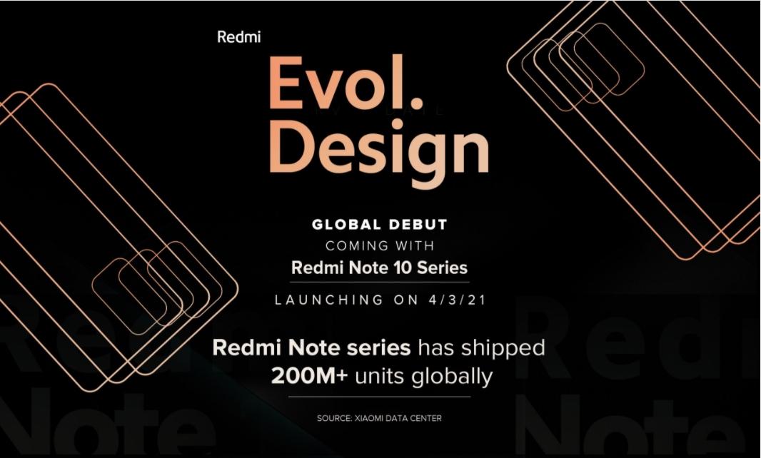 Video teaser del Redmi Note 10