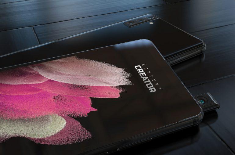 Samsung patenta una cámara pop-up rotativa: Posible Galaxy A82