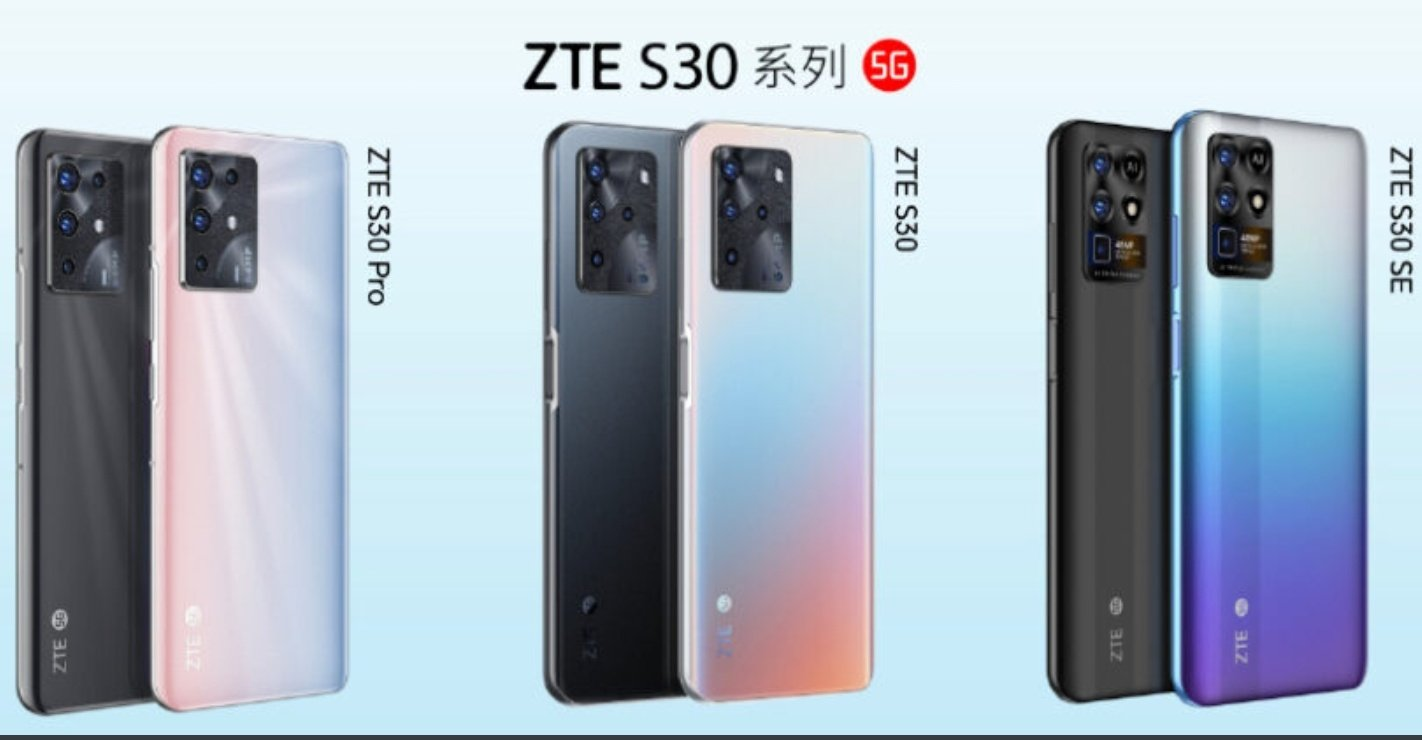 ZTE renueva su gama media con la serie ZTE S30, S30 Pro y S30 SE
