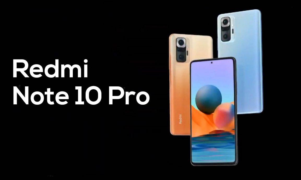 Redmi Note 10 Pro y Pro Max: características principales