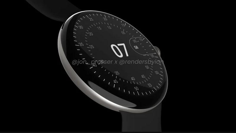 Google Pixel Watch filtrado: Diseño minimalista y moderno
