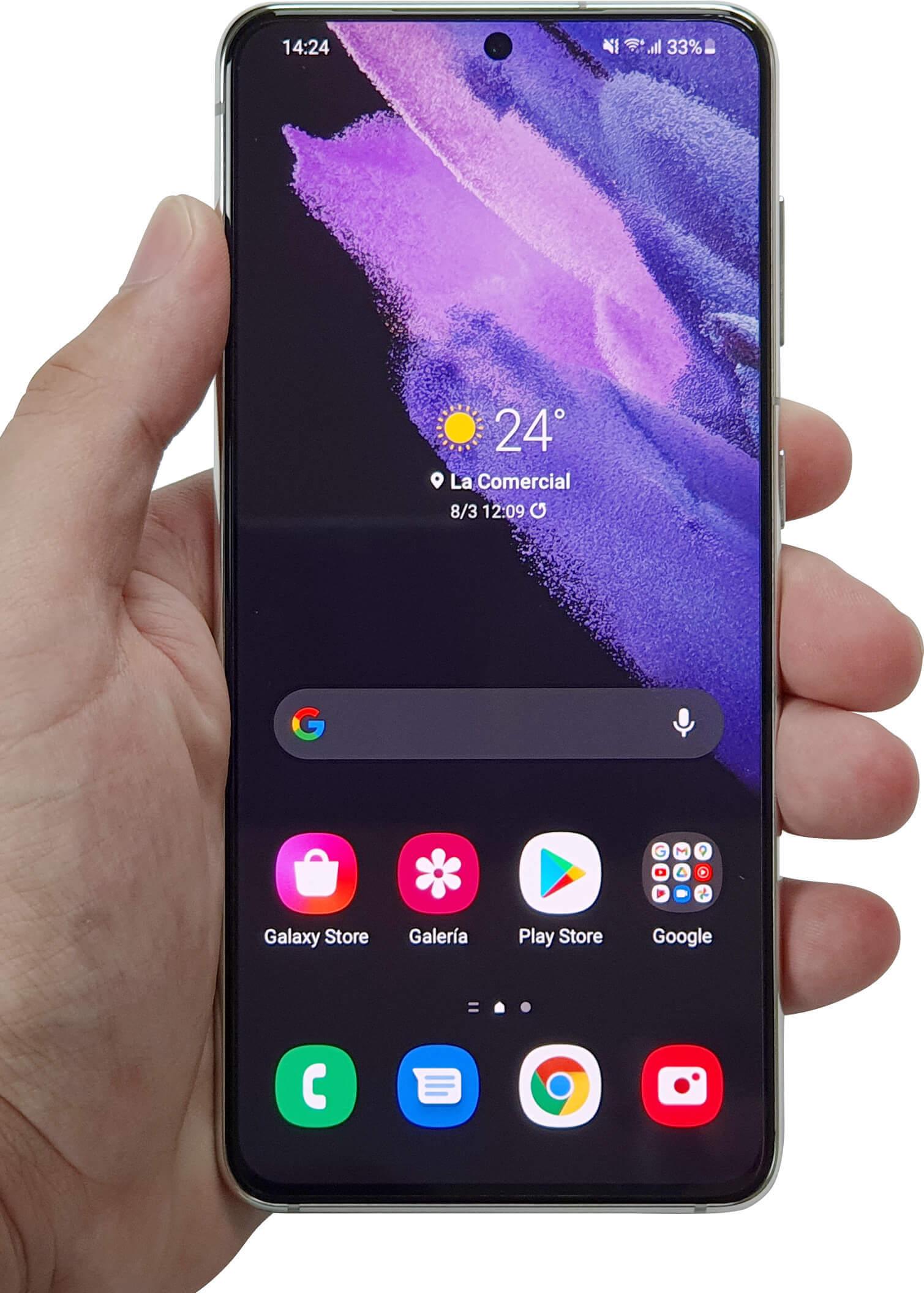 Review Samsung Galaxy S21: un espectáculo que no dura mucho